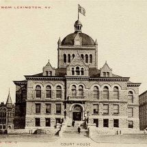 Fifith Courthouse (c. 1905) - Post Card