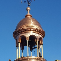 New Copper Cupola