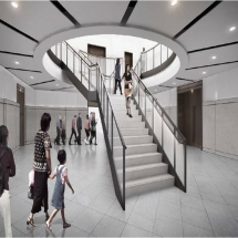 Renovated Staircase Rendering